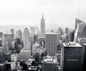 Şehir Skyline BW