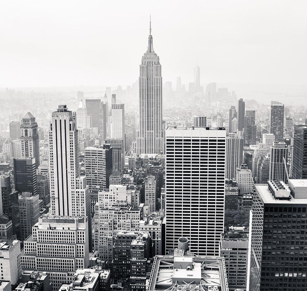 NYC Skyline BW, NYC