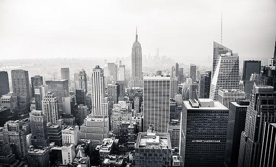 City Skyline BW
