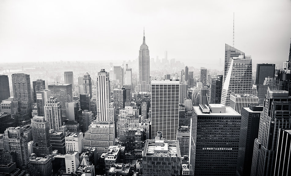 NYC Skyline BW