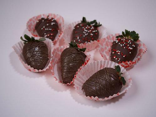 MY CHOCOLATE FIX CHOCOLATE  COVERED STRAWBERRIES