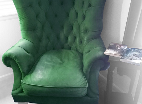 Greetings from the Green Chair!