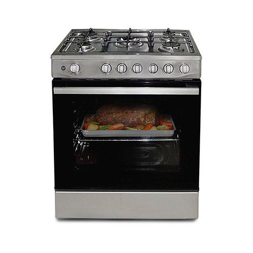 Cocina 5 hornillas inox DA+CO