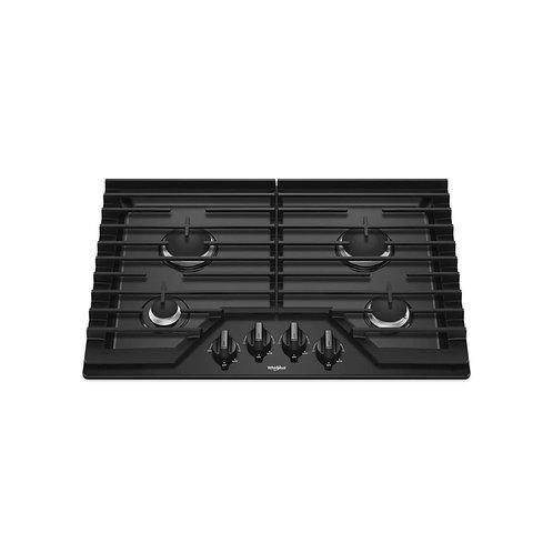 Tope de cocina a gas vitro 4 hornillas Whirlpool