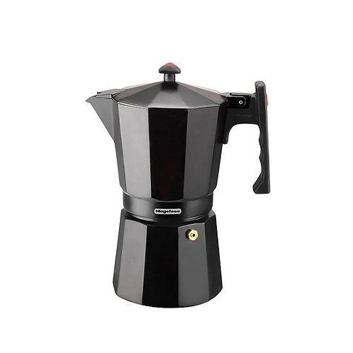 Cafetera greca 3 tazas Magefesa negra mod Colombia Noir