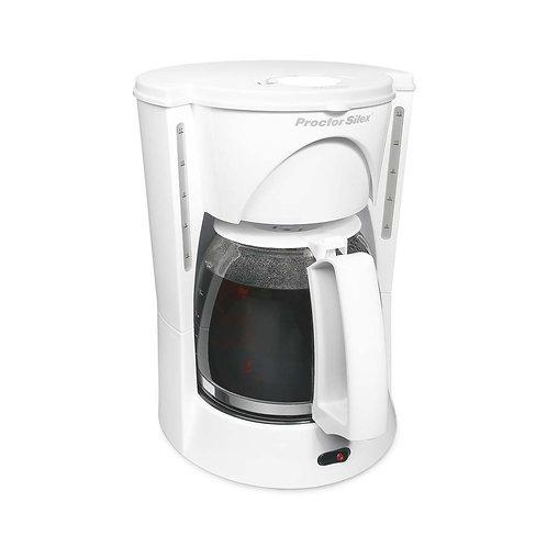 Cafetera 12 tazas Proctor 48521RY-MX con filtro permanente