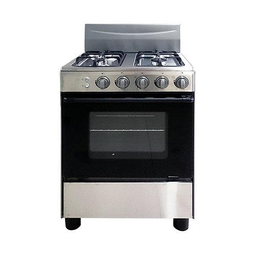 Cocina 4 hornillas Inox DA+CO