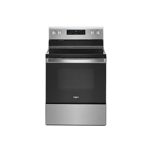 Cocina eléctrica WFE515S0JS0 4 hornillas Whirlpool