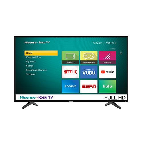 "Televisor smart Full HD 43"" Hisense Roku TV"