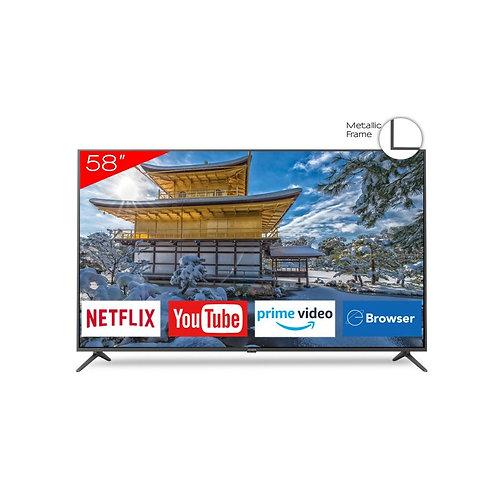 """Televisor smart 4K UHD 58"""" AIWA"""