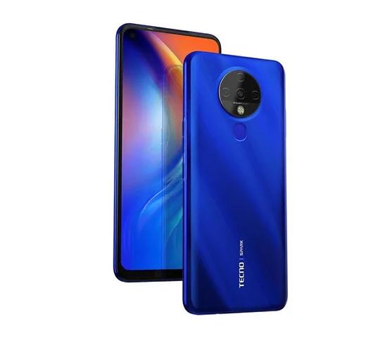 Tecno Spark 6 4+128GB Azul