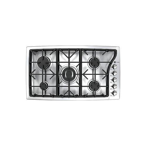 Tope de cocina a gas 5 hornillas General Electric