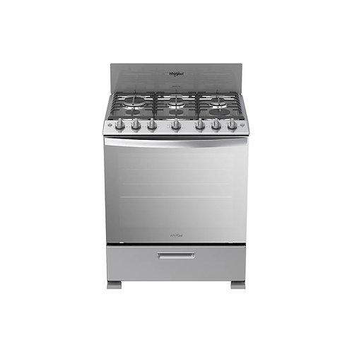 Cocina a gas LWFR3400D00 6 hornillas Whirlpool