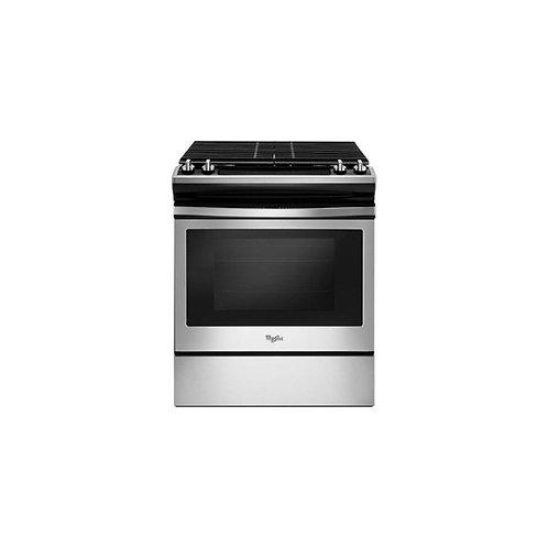 Cocina a gas WEG515S0FS 4 hornillas Whirlpool