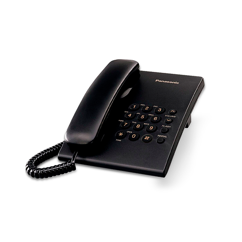 Teléfono TS500LX1B Panasonic