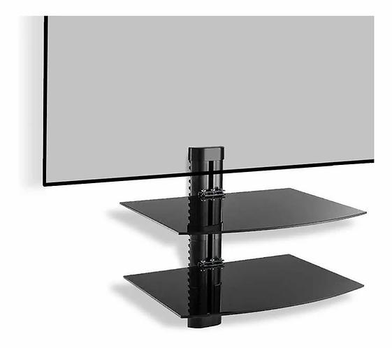 Base repisa 2 nivel vidrio templado