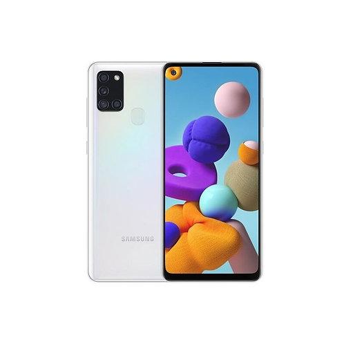 Samsung Galaxy A21s 4+64GB Blanco