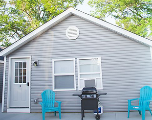 This new cottage has 2 queen bed and 2 full sleeper sofas, and can sleep 8 people. The house does have AC. It is completely remodeled and has all brand new everything. Great location for walking to all attractions on the strip. We are located at the East End of the strip still within walking distance to everything. We are also just across the street from the public beach! Enjoy all the action of Geneva-on-the-Lake. Fresh lines, fresh towels, dishes, silverware, and cooking utensils are provided. Internet and cable also provided. We are pet friendly however there is not much grass area. Propane grill. The parking is just off Lake Road and is for up to 3 cars.  https://www.vrbo.com/1106520 www.staygotl.com