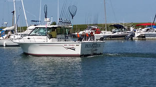 Privateer Sport Fishing is a premium charter fishing company, running out of the Geneva State Park Marina during the peak Summer fishing season. PSF for the 1st class experience!