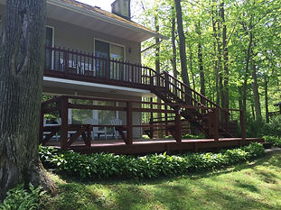 Vacation Rentals in Ashtabula County. Rivers Edge Cottage in the Grand River, Maddie's Place in downtown Geneva, & Fairwinds at Geneva on the Lake