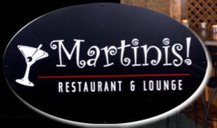 A local restaurant with an amazing selection of martinis!