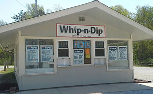 Whip n Dip is a hometown favorite ice cream shop! It�s always offering new flavors and highlighting a flavor of the week. Make sure to keep your eye out for two times a year when it serves its famous homemade peanut butter ice cream.