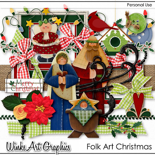 Folk Art Christmas
