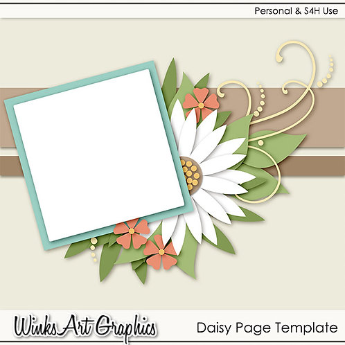 Daisy Page Template
