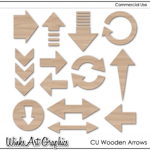 CU Wooden Arrows