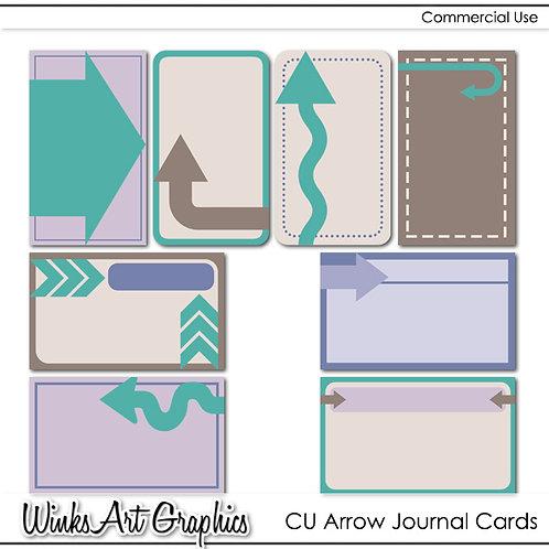 CU Arrow Journal Cards