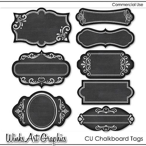 CU Chalkboard Labels