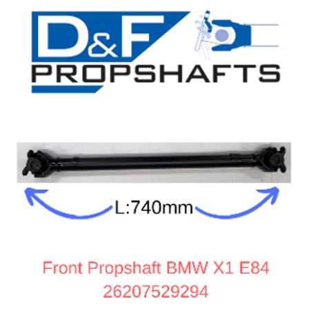 BMW X1 E84 Propshaft