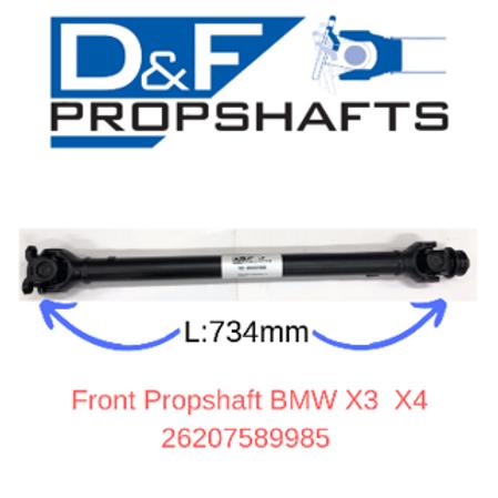 BMW X3 F25 Front Propshaft