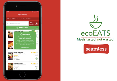 ecoEATS by Seamless wireframe