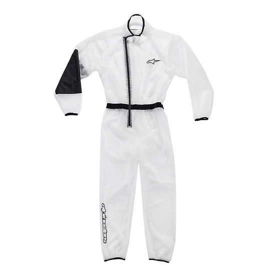 KART RAIN YOUTH SUIT - CLEAR