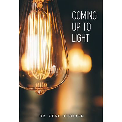Coming Up To Light - Paperback Book
