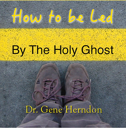 How To Be Led By the Holy Ghost - Digital Download
