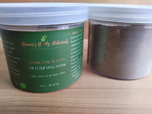 Charcoal & Clay Mineral Mask