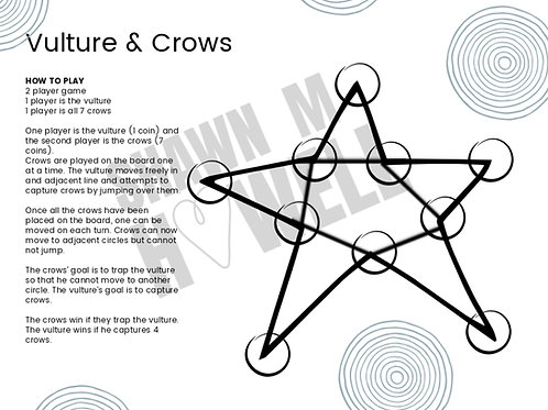 Vulture and Crows Game Printable