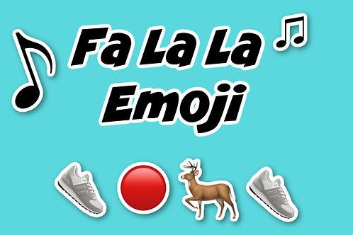 Fa La La Emoji (Screen Based Game)