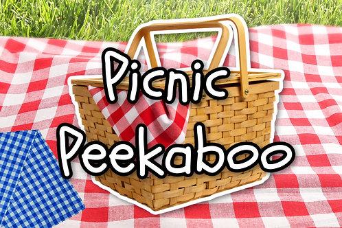 Picnic Peekaboo Animals On Screen Game