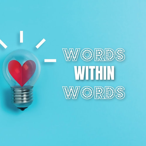 Words Within Words (Valentine) Screen Based Game
