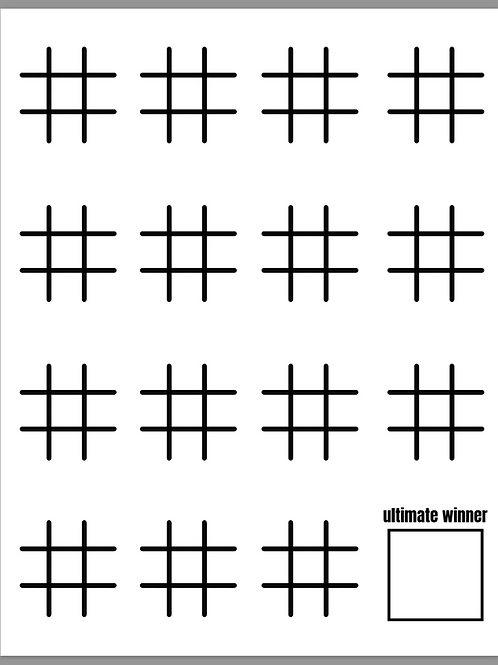 Pen & Paper Game Pack (10 Printable Games)