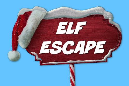Elf Escape On Screen Game