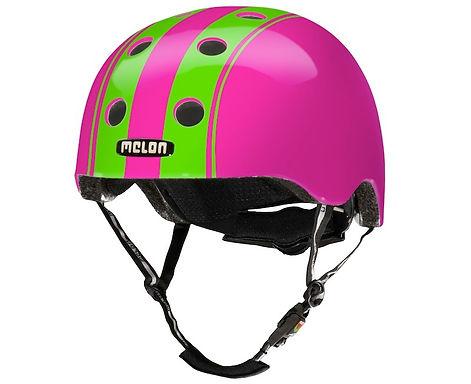 メロンヘルメット ダブルグリーンピンク