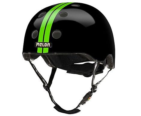 メロンヘルメット ストレートグリーンブラック