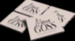 The EmmaRose Agency Business Card Design Marva Goss