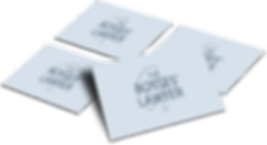The EmmaRose Agency Business Card Design The Bosses' Lawyer