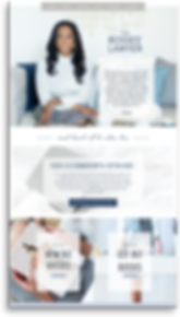 The EmmaRose Agency Web Design The Bosses' Lawyer