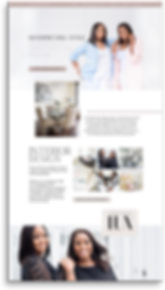 The EmmaRose Agency Web Design 7Lux Essentials